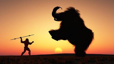 Neandertaler-Jagd