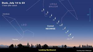 Kometen-Karte