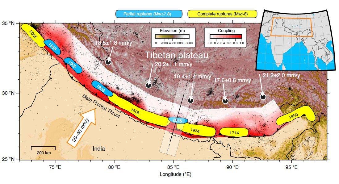 Seismik Nepals