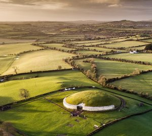 Newgrange Luftbild