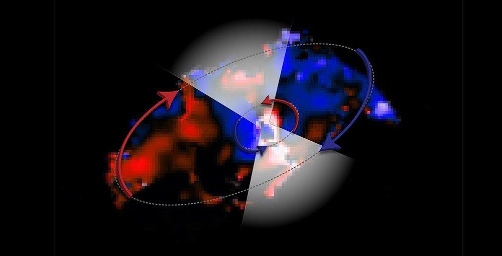 Gegenstrom ums Schwarze Loch