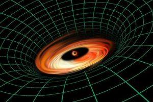 MAteriescheibe ums Schwarze Loch