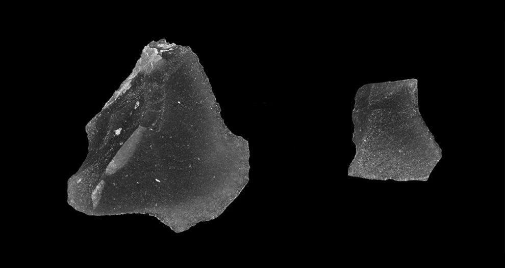 Obsidian-Klingen