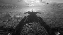 Opportunity-Schatten