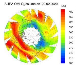 Ozonwerte