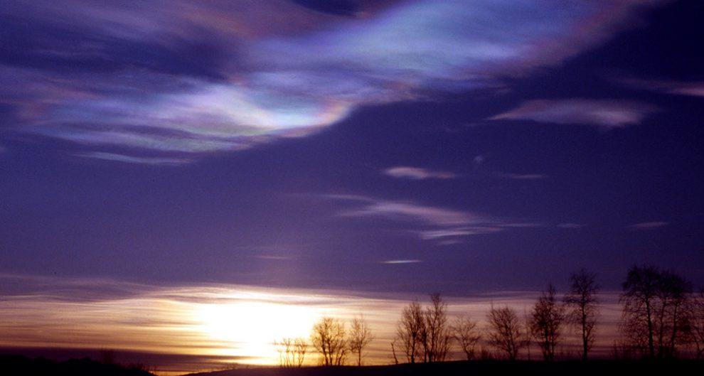 polare Stratosphärenwolken