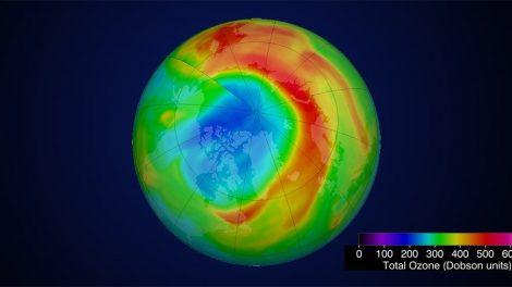 Arktisches Ozonloch