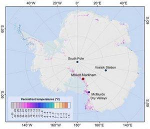 Permafrost Antarktis