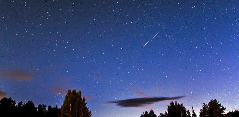 Perseiden-Meteor
