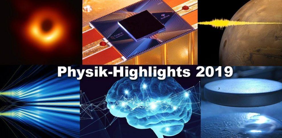 Physik-Highlights 2019