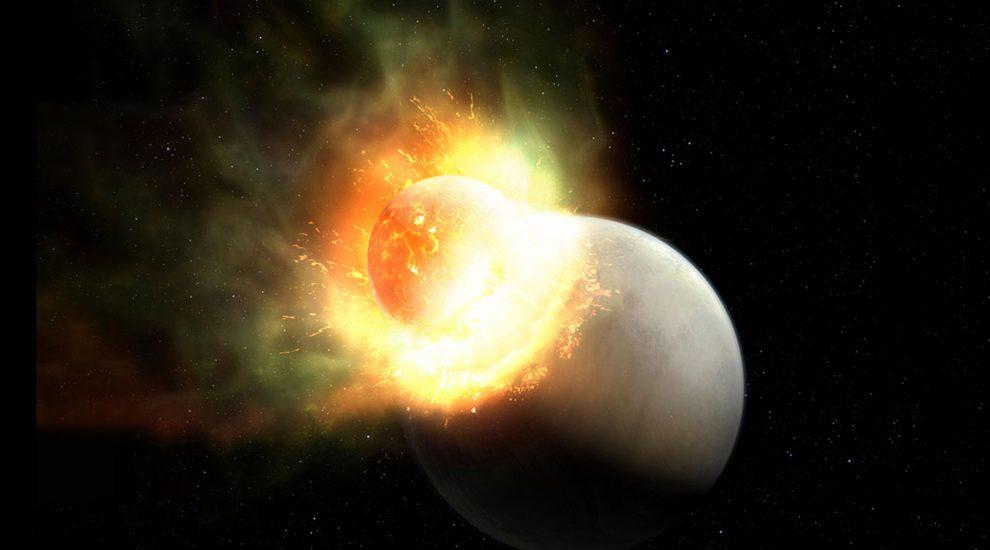 Planetenkollision