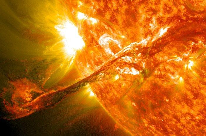 Sonnenplasma