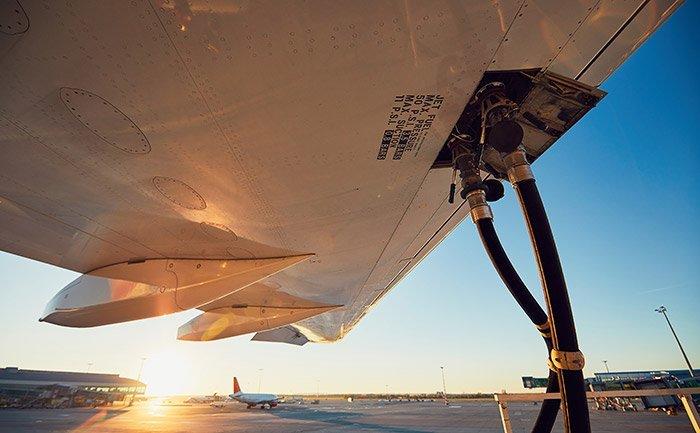 Flugzeug-Kraftstoff
