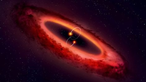 protoplanetare Scheibe um HD 98800 B