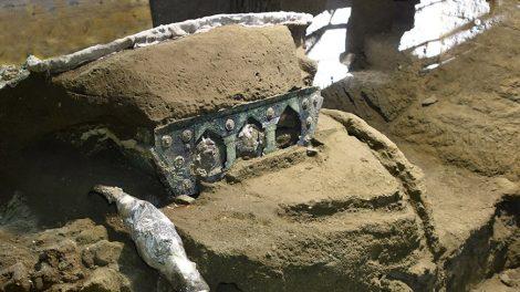 Kutsche aus Pompeji