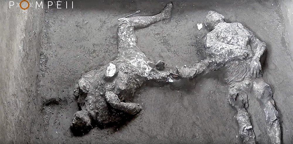 Pompeji: Überreste von reichem Mann und Sklaven entdeckt