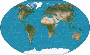 Winkel-Tripel-Karte