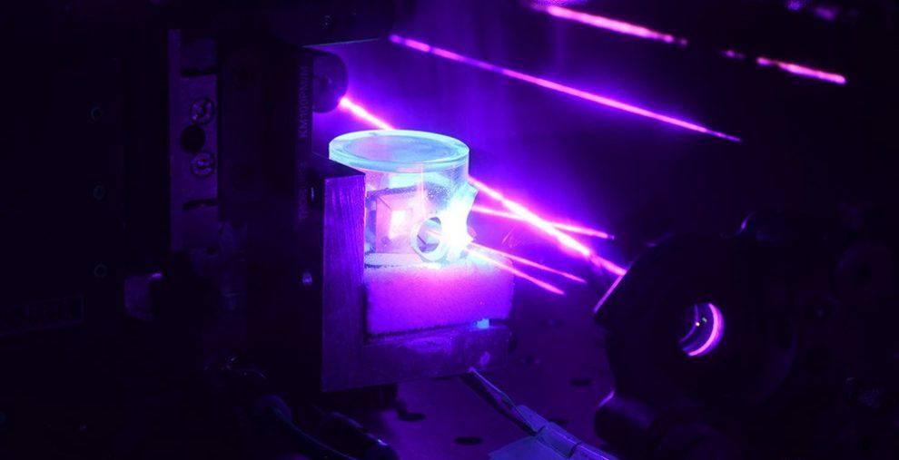 Lasermessung