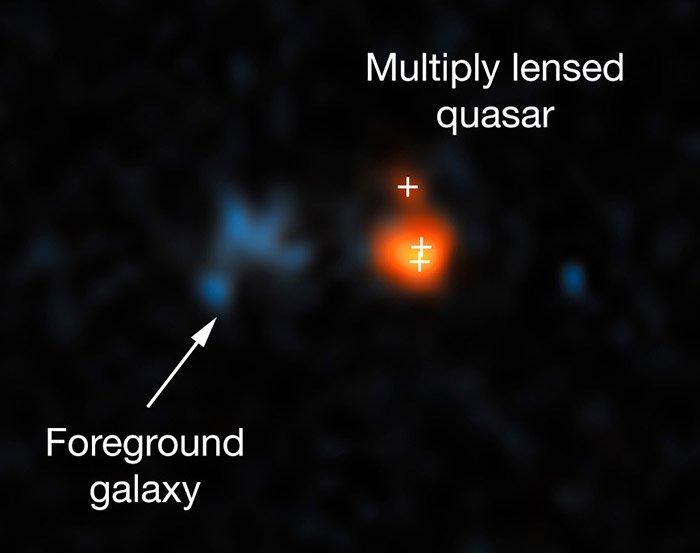 Quasar J043947.08+163415.7