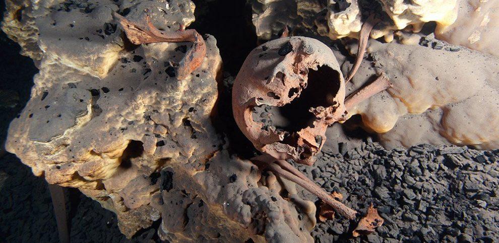 Schädel aus Quintana Roo
