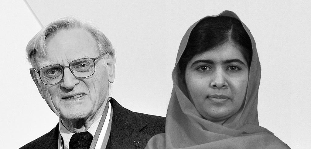 Ältester und jüngster Nobelpreisträger