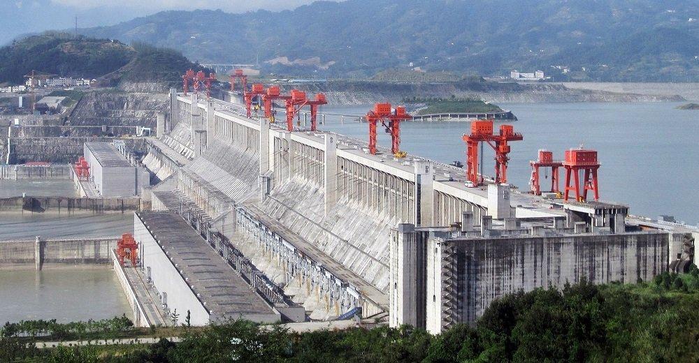 Drei-Schluchten-Talsperre in China