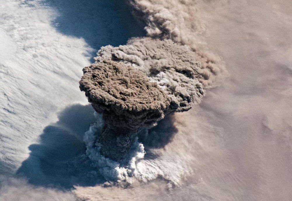 Raikoke-Ausbruch