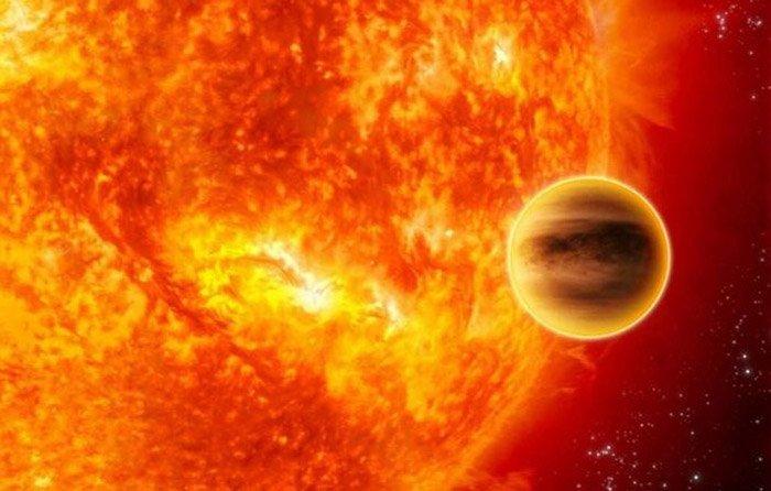 Planet am Roten Riesen