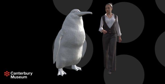 Riesenpinguin auf Neuseeland entdeckt