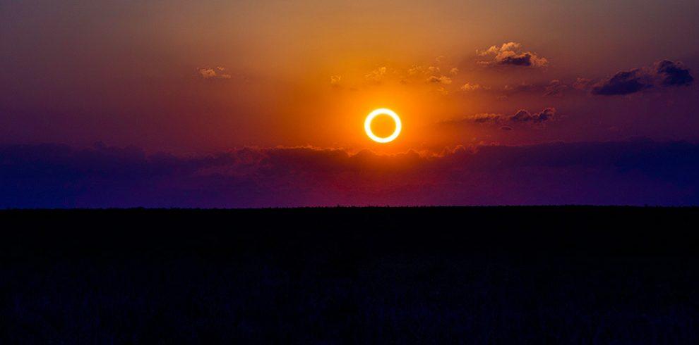 Annuläre Eklipse