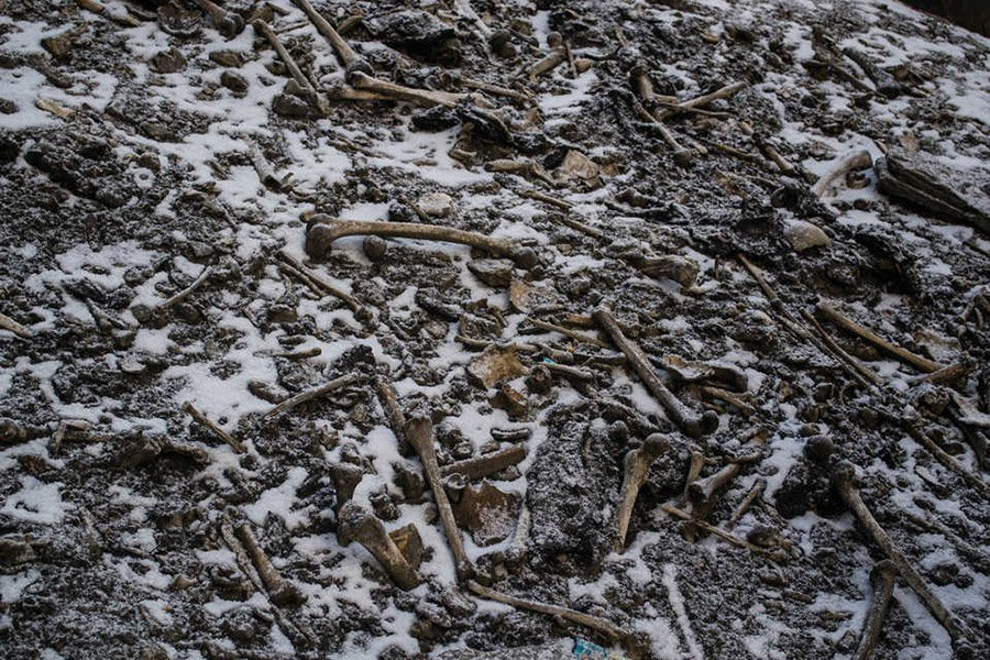Roopkund-Skelette