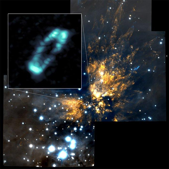 Orion SrcI SALzscheibe