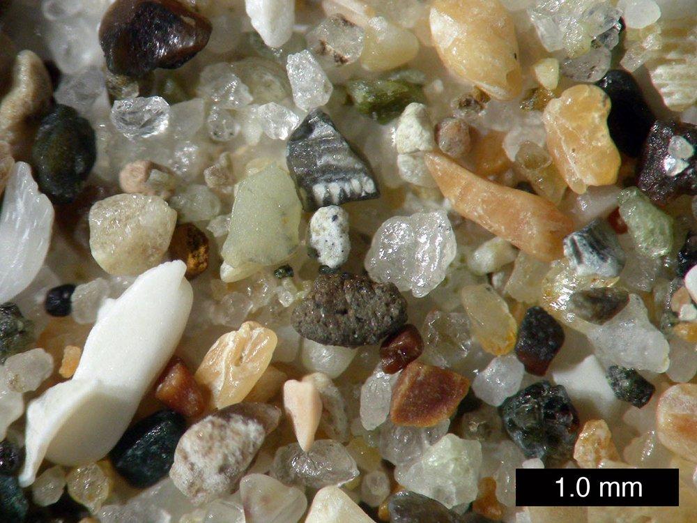 Sand-Nahaufnahme