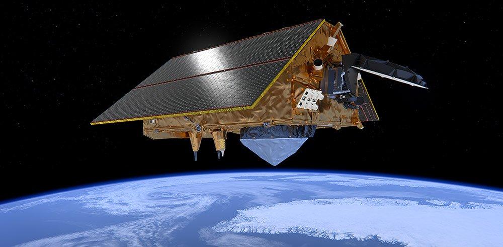 Sentinel-6-Neuer-Meeresbeobachtungs-Satellit-gestartet