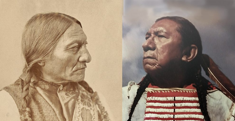 Sitting Bull und Ernie Lapointe