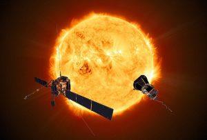 Solar Orbiter und Solar Parker probe