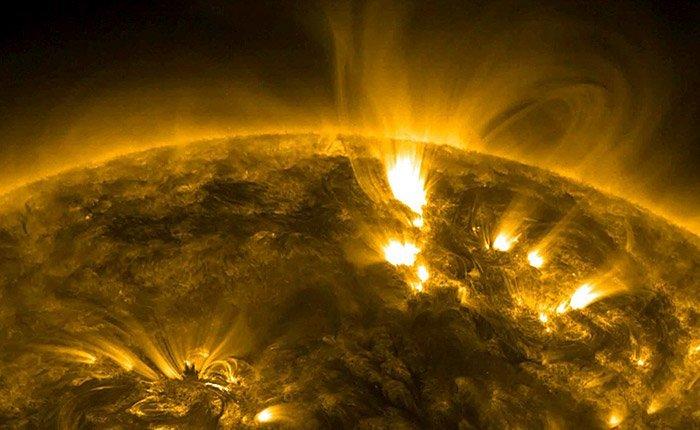 Aktive Sonne