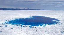 Schmelzwassersee