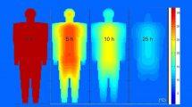 Abkühlung einer Leiche