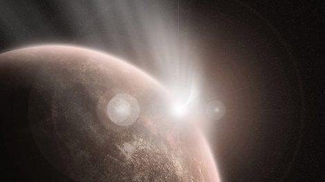 Venus-Einschlag