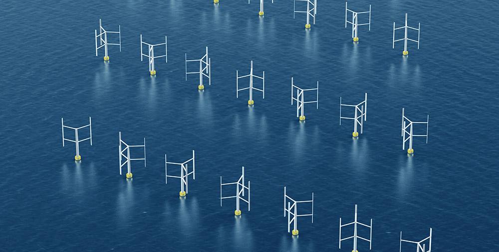 Windkraft: Künftig vertikal statt horizontal?