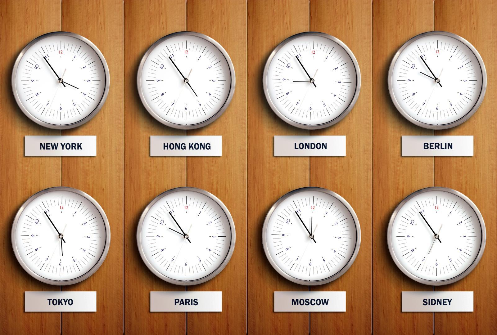 Vision Welt ohne Zeitzonen Ist es möglich   scinexx.de