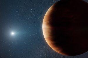 Weißer Zwerg und Planet