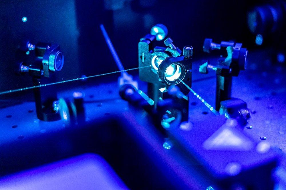 Laser im Quantnelabor