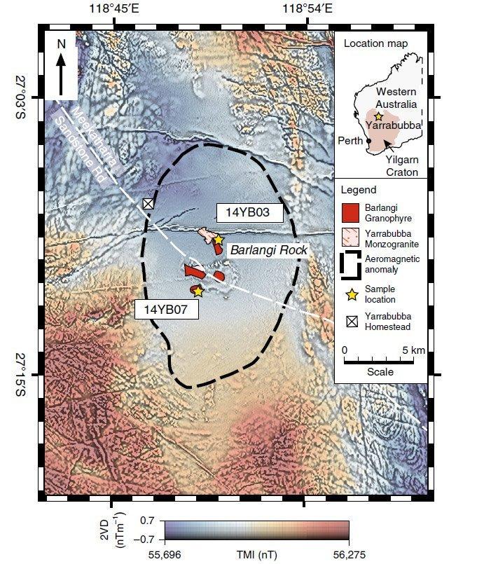 Yarrabubba-Krater